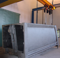 INDUSTRIAL PAINTING AND OVEN BOOTHS