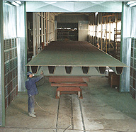 INDUSTRIAL PAINTING PLANTS FOR METAL CARPENTRIES