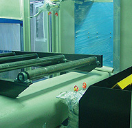 AUTOMATIC PAINTING PLANT FOR SHEETS AND PROFILES